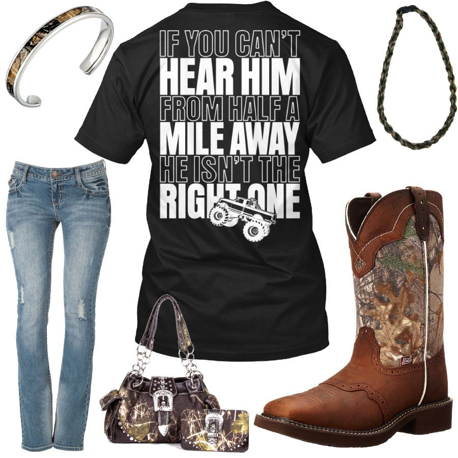 Half mile away camo paracord necklace outfit camo country girls