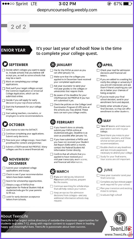 Senior year checklist College Dorm Checklist For Freshman College Dorm Checklist For Freshman What Do College Students Need The Most Colle Senior year checklist College D...