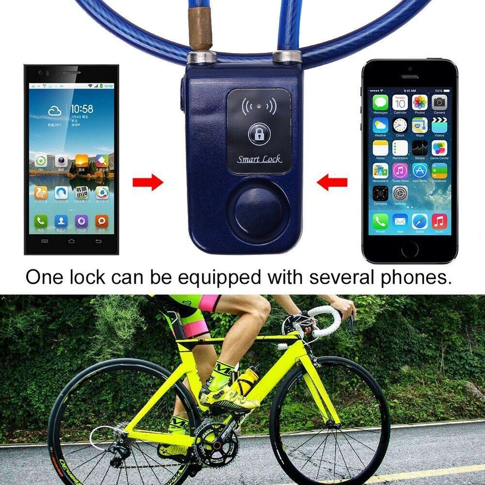 Sponsored Ebay App Control Bicycle Bluetooth Smart Lock Anti
