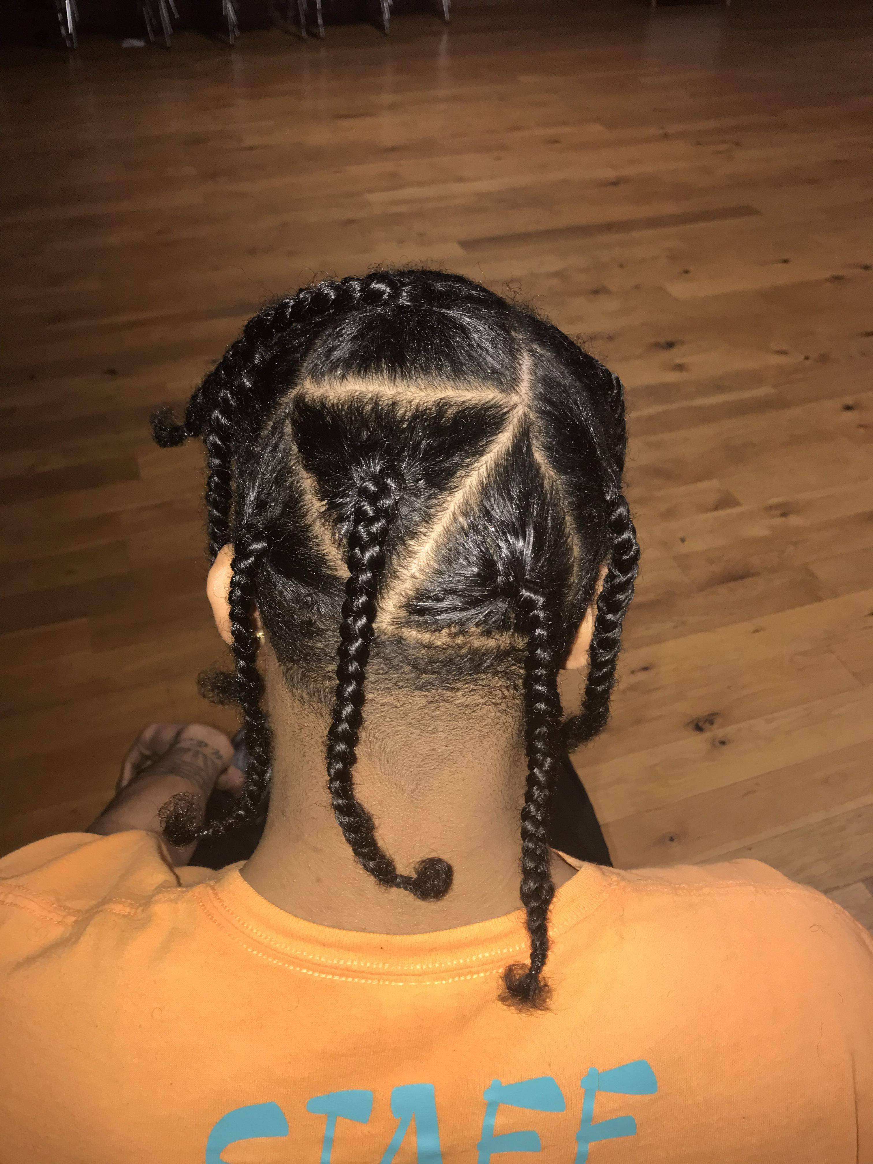 Pin By Bre On Braids Mens Braids Hairstyles Boys Long Hairstyles Hair Styles