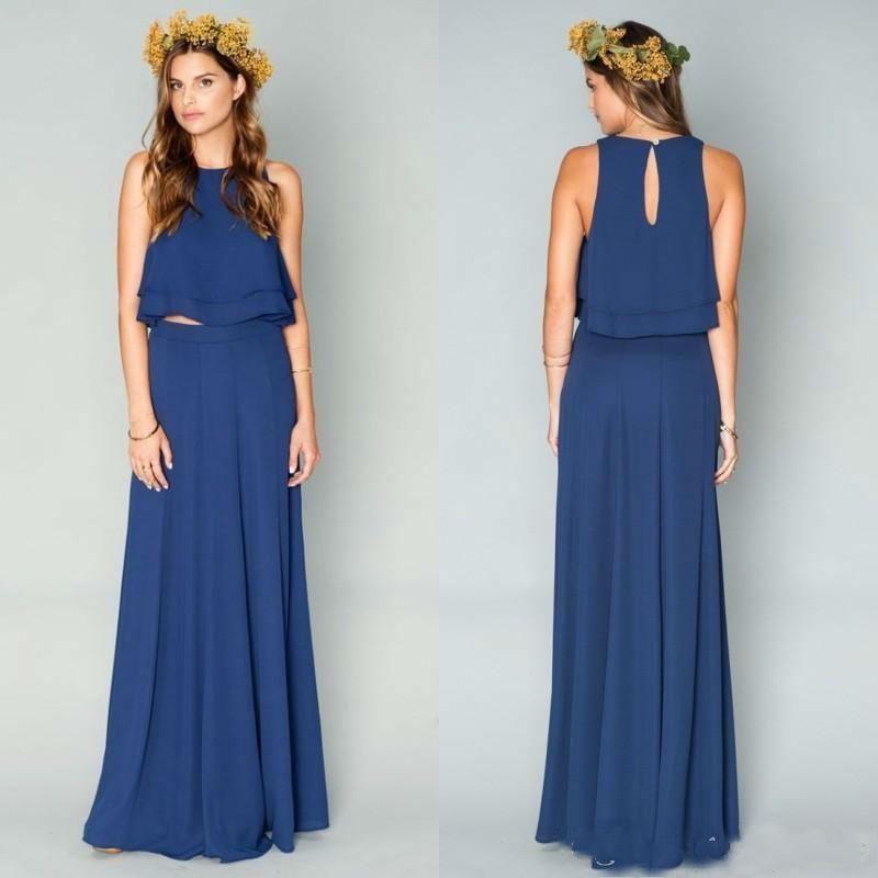 Blue Dresses Size 4