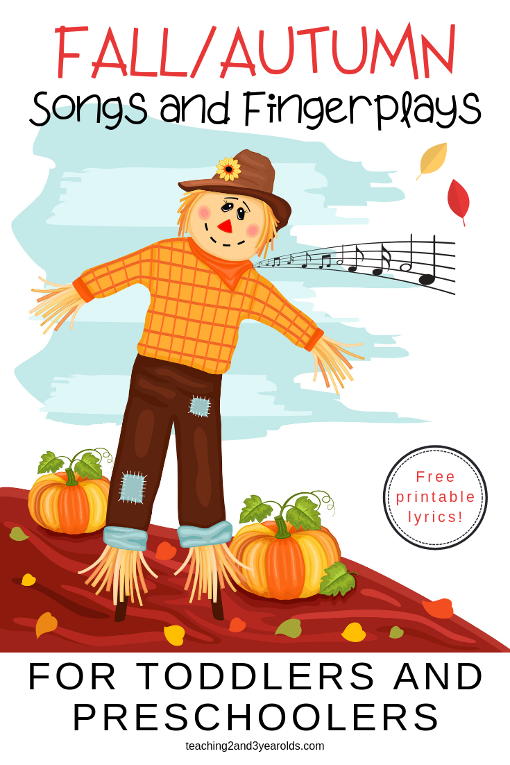 Preschool Fall Songs for Circle Time