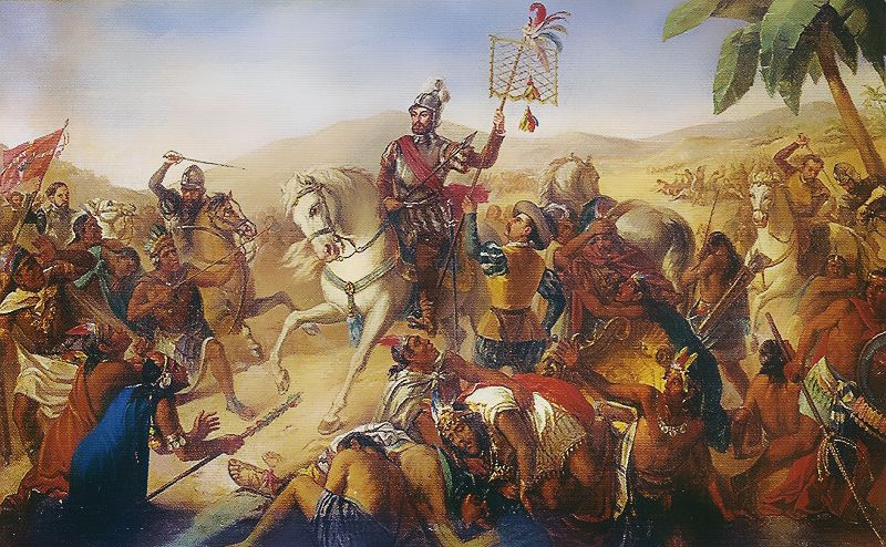 cortes vs columbus The spanish conquest of the aztec empire, beginning in february 1519 hernan cortes and the rest of his men decided to build a catapult the 500th anniversary of christopher columbus's first voyage.