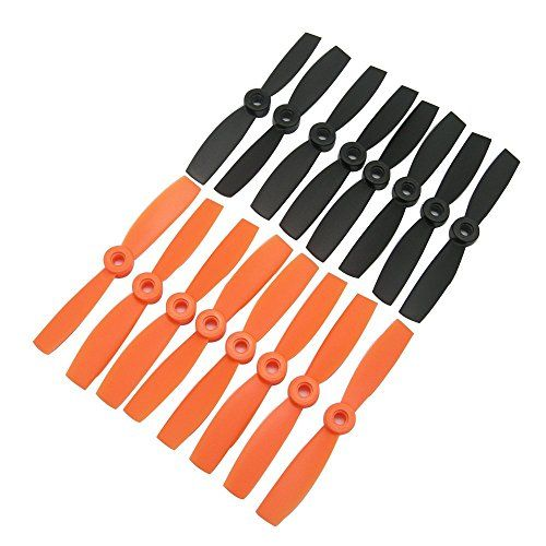 8 CW, 8 CCW RAYCorp/® 4045 4x4.5 Propellers 16 Pieces 1 battery strap 4-inch Quadcopter and Multirotor Props