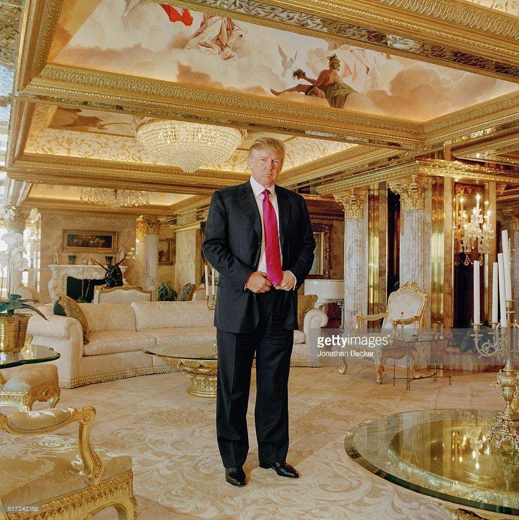 Image result for trump gold penthouse