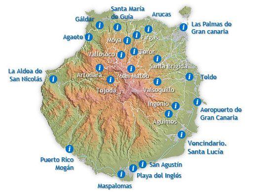 playa de maspalomas mapa