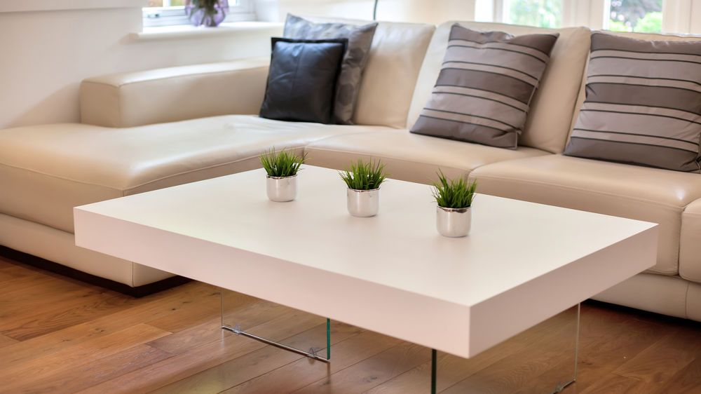 Rectangular White Coffee Table Uk Large Tables With Drawers Oak