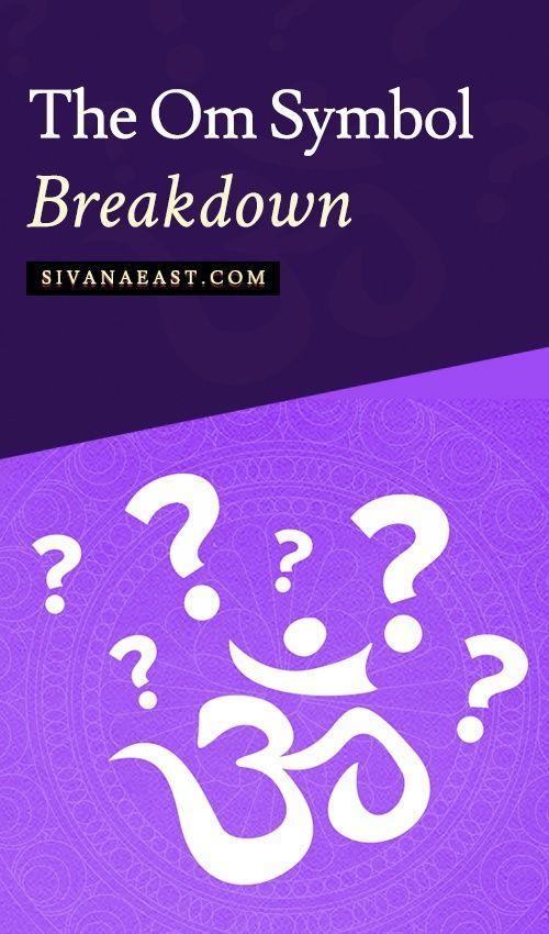 The Om Symbol Breakdown Meditation N Inner Peace Pinterest