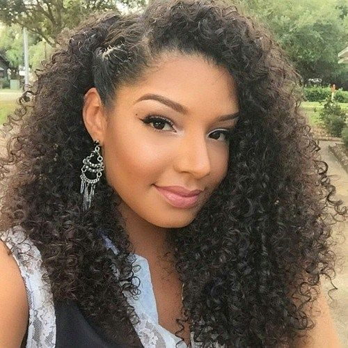 Simple Hairstyle Ideas For Curly Hair : Styles and cuts for naturally curly hair in