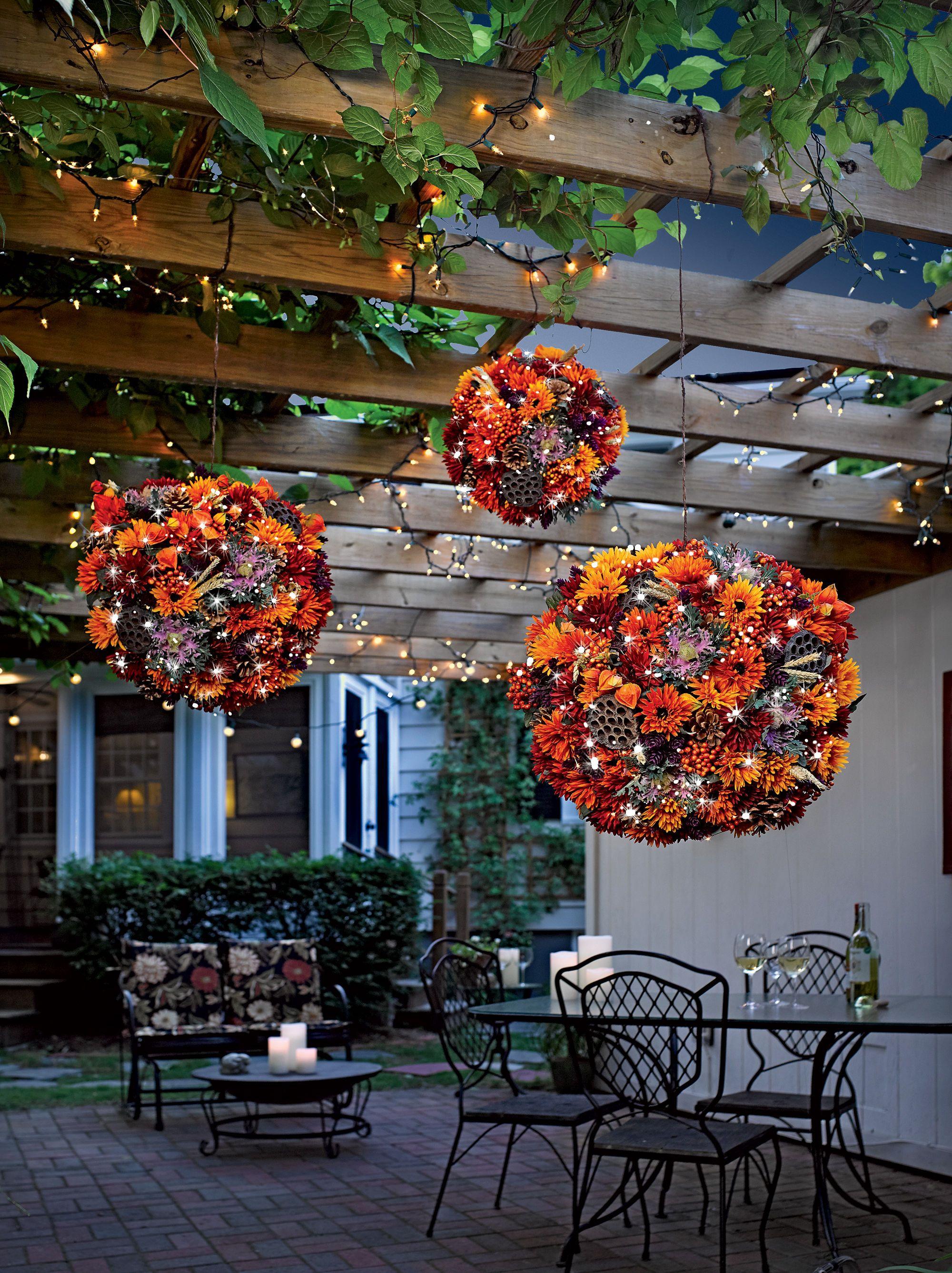 orb chandelier kit holispheres with led lights deko pinterest projekte deko und weihnachten. Black Bedroom Furniture Sets. Home Design Ideas