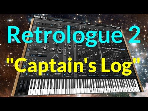 cool New Steinberg Retrologue 2 Synth Demo Crack Free