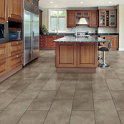 Trafficmaster Interlock 12 Inch X 23 82 Inch Andria Stone Luxury Vinyl Tile Flooring 19 8 S Vinyl Tile Flooring Luxury Vinyl Tile Flooring Luxury Vinyl Tile