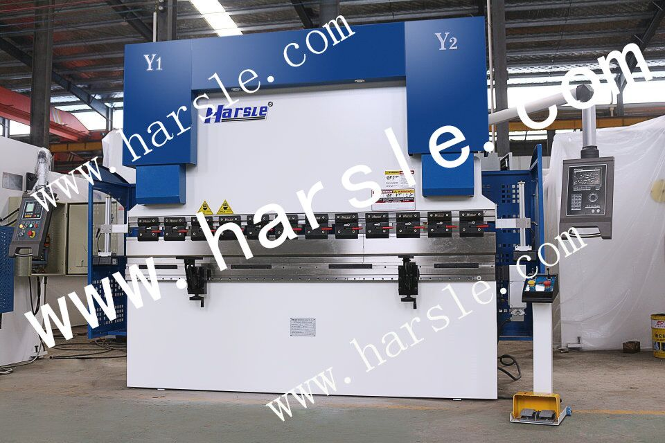 Harsle Brand We67k 125t 2500 Electric Hydraulic Press Brake With Da52s System If You Are Interested In It P Press Brake Cnc Press Brake Hydraulic Press Brake