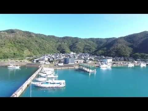 Photo of 奄美大島 大熊漁港(ドローン空撮・4K)