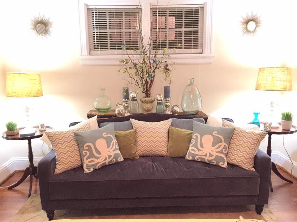 Novogratz Vintage Tufted Sofa Bed In Velour Multiple Colors Walmart Com Tufted Sofa Gorgeous Sofas Navy Home Decor