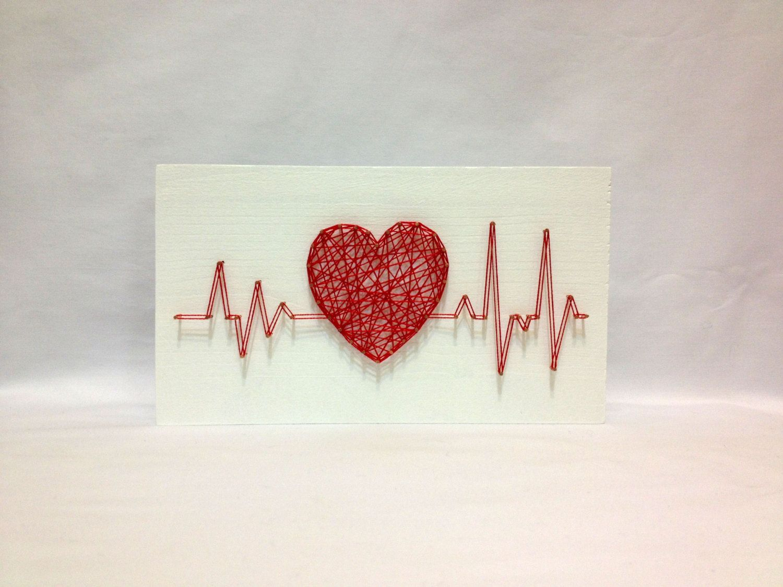 Les 25 meilleures id es de la cat gorie coeur cardiaque for Decoration murale hipster