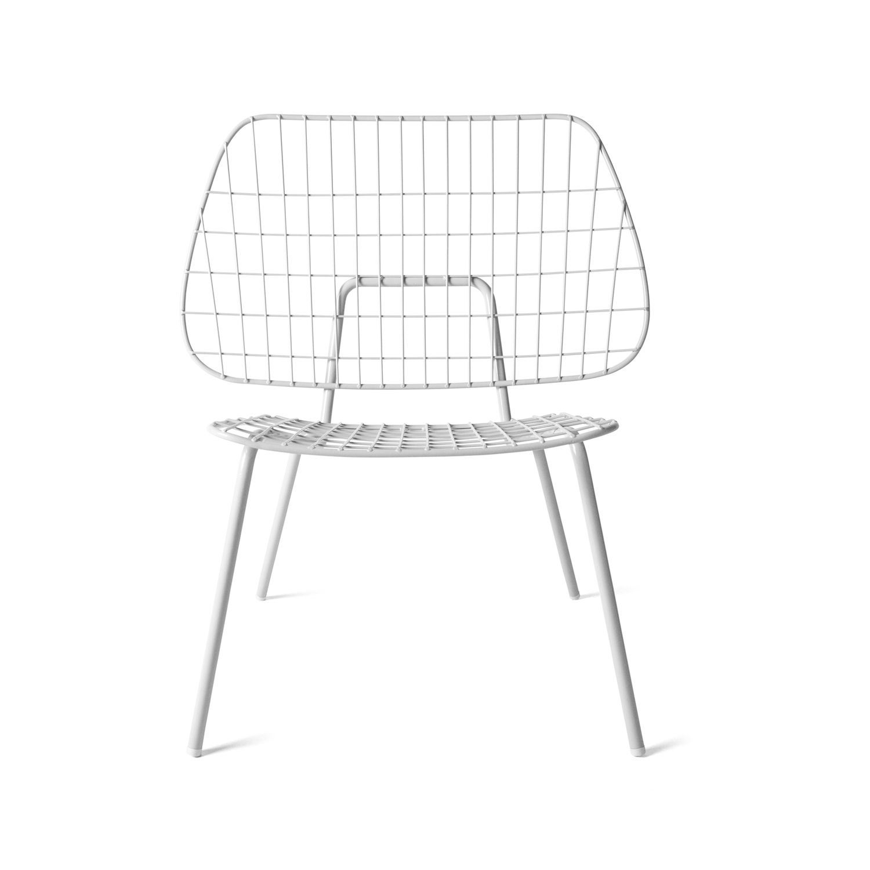 WM String loungestol, vit i gruppen Möbler / Fåtöljer & Sittpuffar hos RUM21.se (131815)