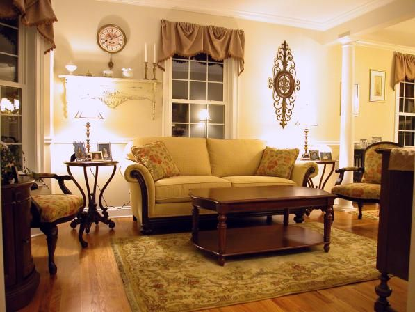 This loveseat and room is so inviting - who would not want to relax