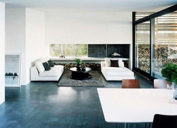 Exterior Fabulous Living Room With White Sofa Facing Wooden Table Stunning Wooden Living Room Exterior