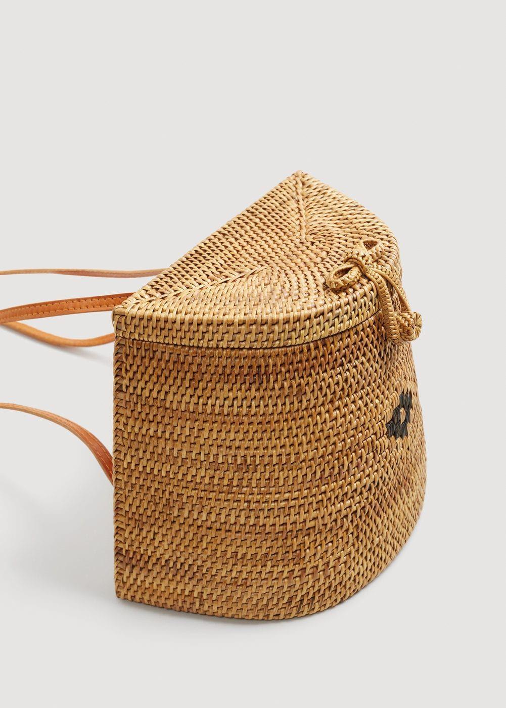 099bbf247bdfa0 Backpack m-- | MANGO Pantalones De Ciclista, Bolsos De Verano, Mimbre,