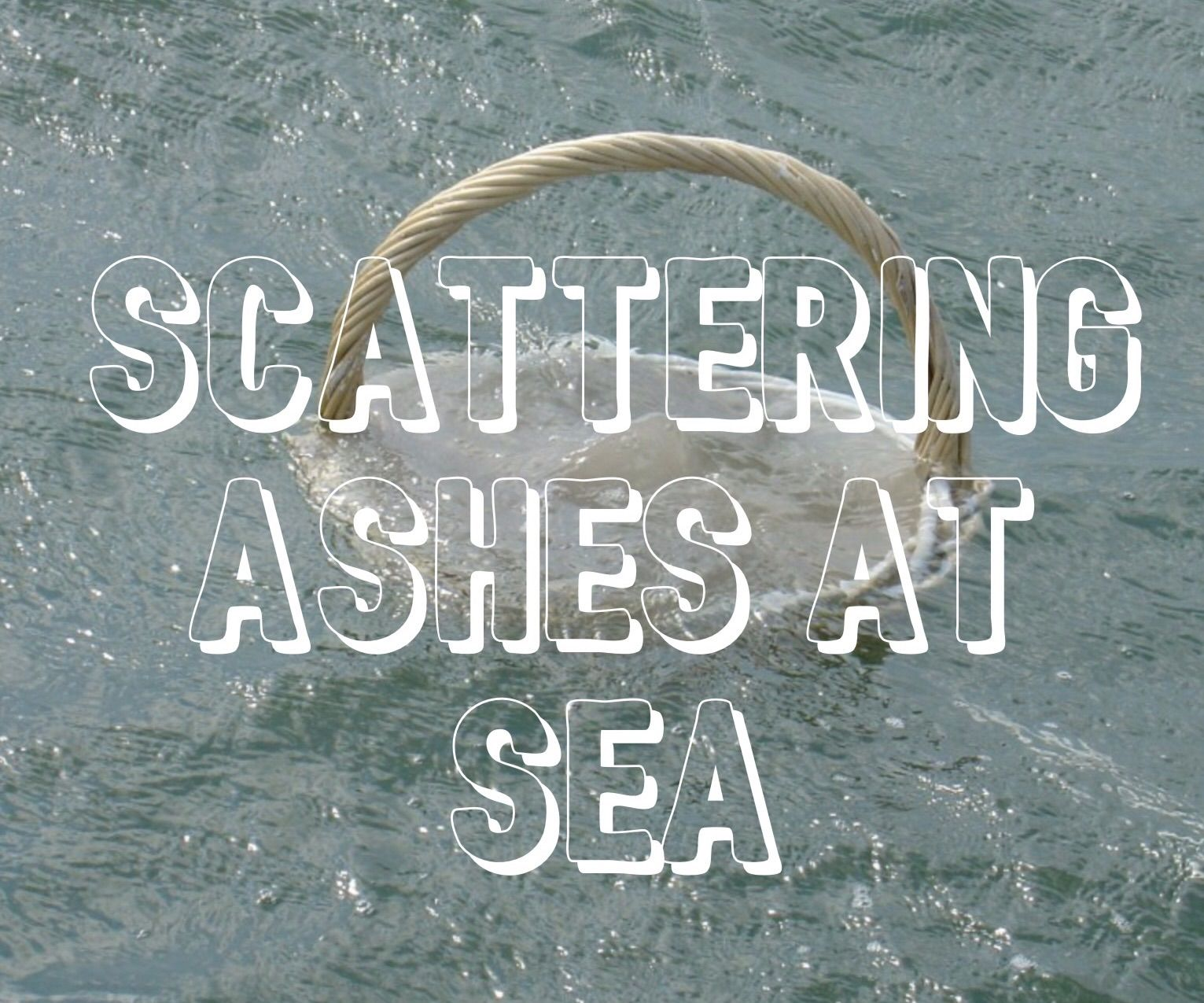 scattering ashes at sea