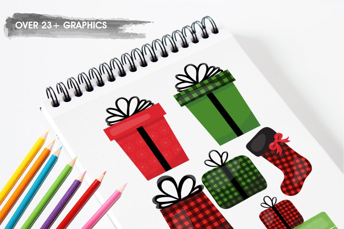 Christmas Gift Graphic By Prettygrafik Logo Design Process