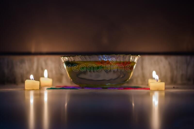 Happy Diwali – Colorful Clay Diya Lamps Lit During Diwali Celebration Stock Image – Image of culture, festival: 181392423