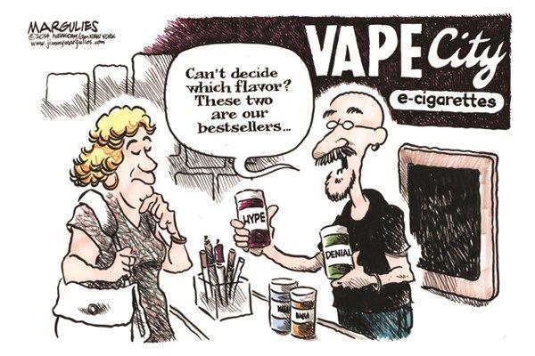 Related Image Political Cartoons Vape Denial