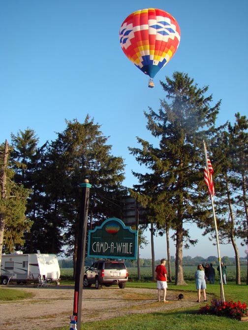 Hot Air Balloon Lincoln, Illinois Balloon rides