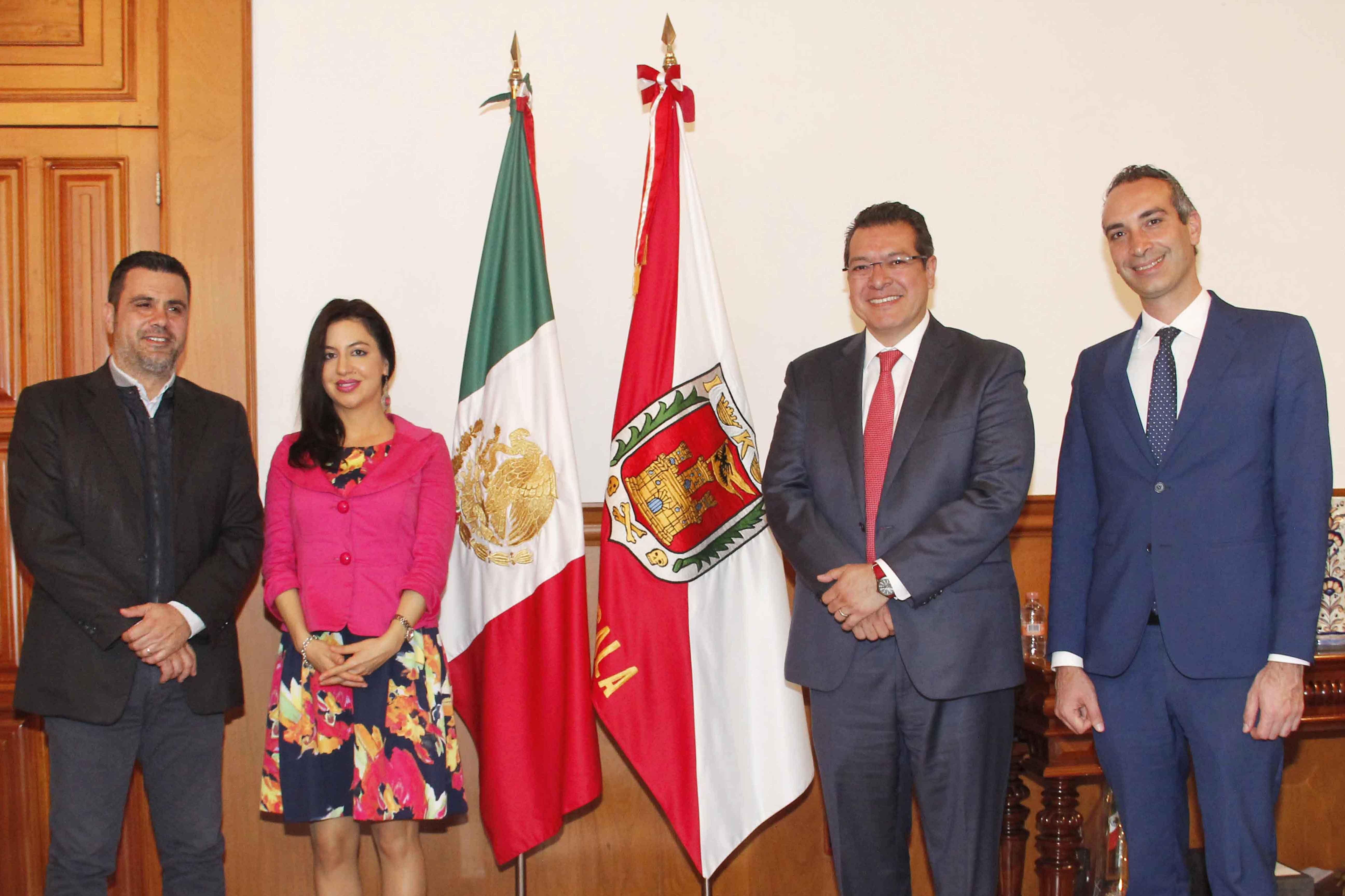En respuesta a la visita del Gobernador a Italia, Francesca La Marca arribó a la entidad. En el encuentro se acordó establecer mecanismos para propiciar el