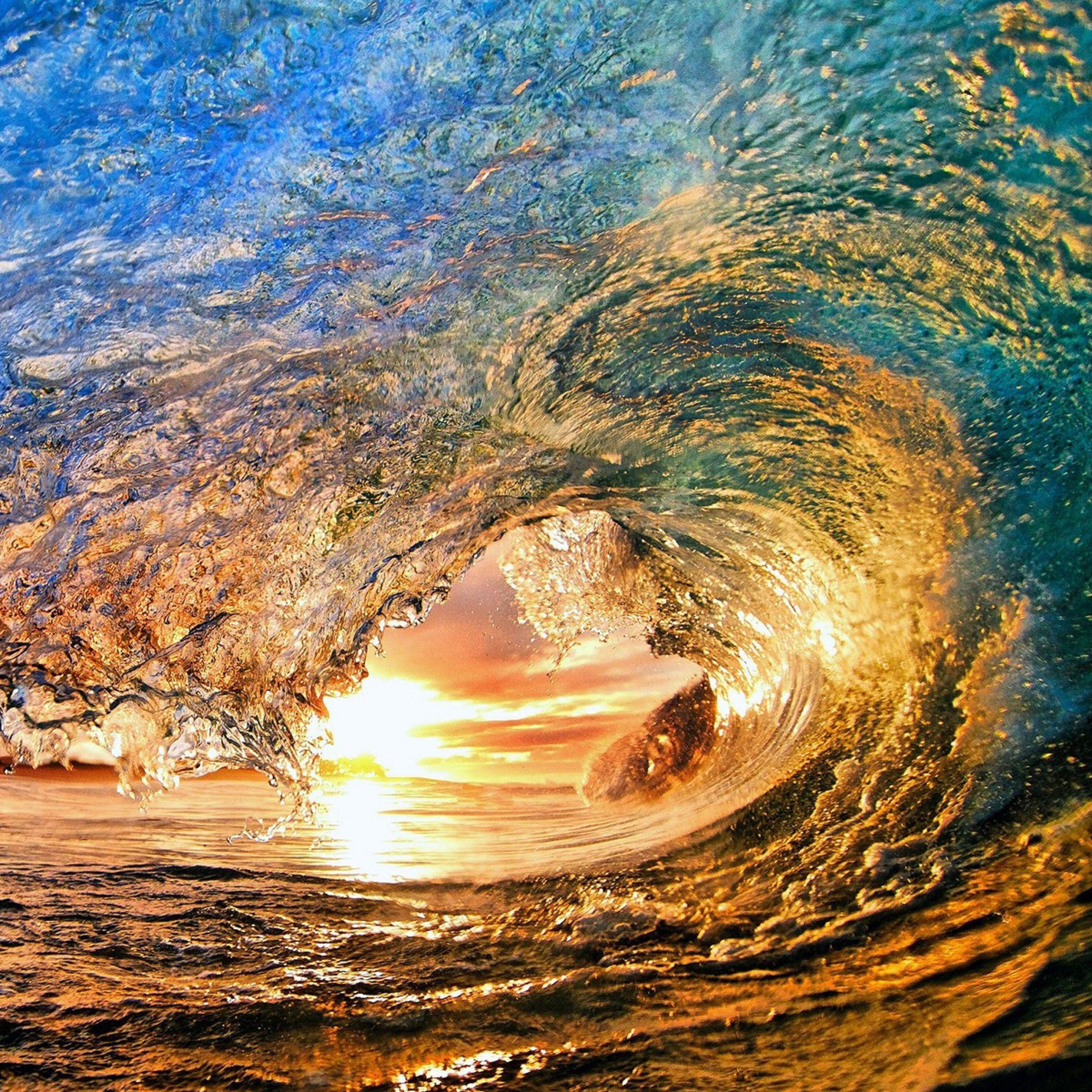 Waves Wallpapers: 2732x2732 Wallpaper Do Sol, Mar, Onda