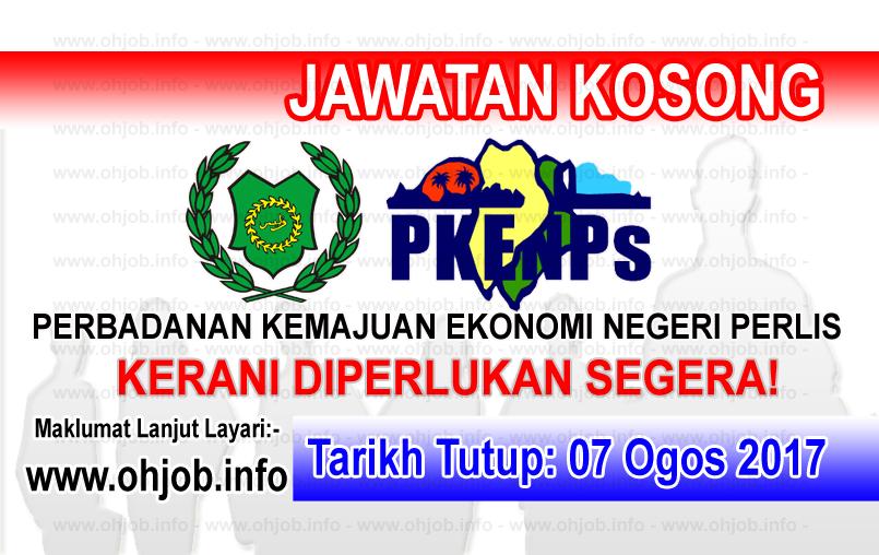 Jawatan Kosong Perbadanan Kemajuan Ekonomi Negeri Perlis Pkenps 07 Ogos 2017 Gaming Logos Logos