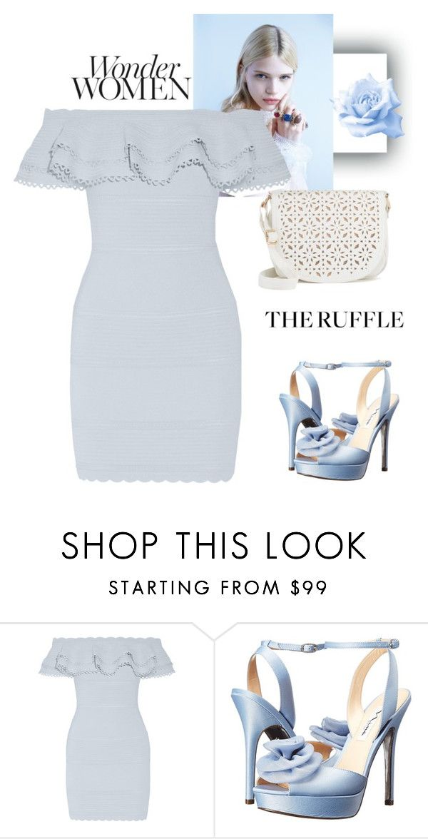 """Untitled #425"" by jovana-p-com ❤ liked on Polyvore featuring Alexander McQueen, Nina, Under One Sky, Barneys New York and ruffles"