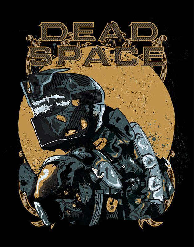 Dead Space Poster Yuri Del Duca Dead Space Space Poster