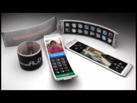 Future Phone Technology Future Phones 2050 Future Phones Concept Flexible Oled Phone Design Smartphone