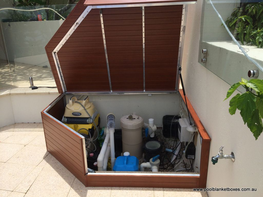For quality custom made pool blanket boxes u0026 pool storage boxes throughout Perth u0026 Australia contact Pool Blanket Boxes on 9250 6872 for a quote & Filter Enclosures | Pool Blanket Boxes Australia | pool | Pinterest ...
