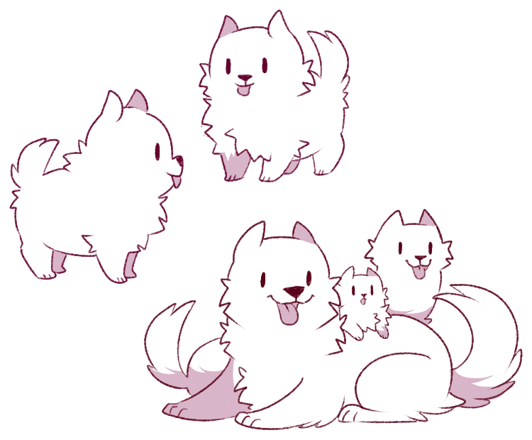 Here Everything Is Not What It Seems Anime Face Drawing Cute Animal Drawings Undertale Dog