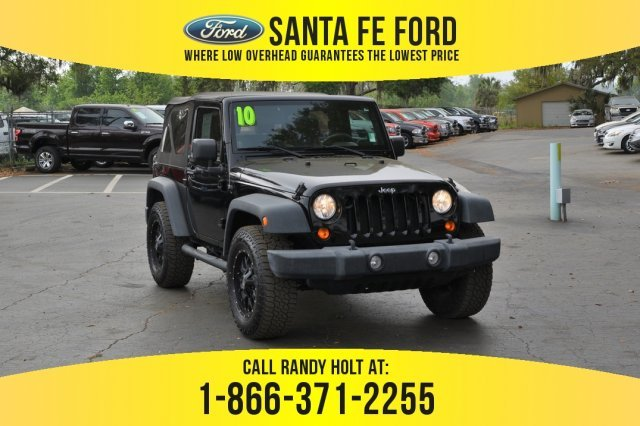 Used 2010 Jeep Wrangler Sport 4x4 Suv For Sale Gainesville Fl