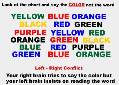 Mind Trick Color Trick Did It But It Took A Bit Of Time Funny Mind Tricks Mind Tricks Mind Reading Tricks