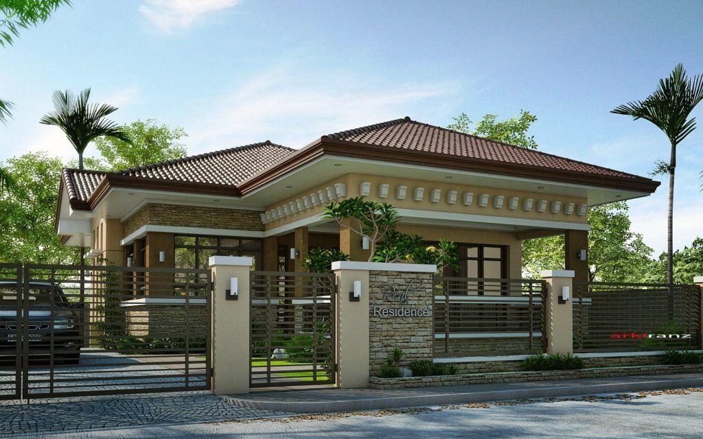 d6a4dd91c35fb69a76c1977d46f68e19 - 23+ Small Modern Bungalow House Design With Floor Plan Pictures