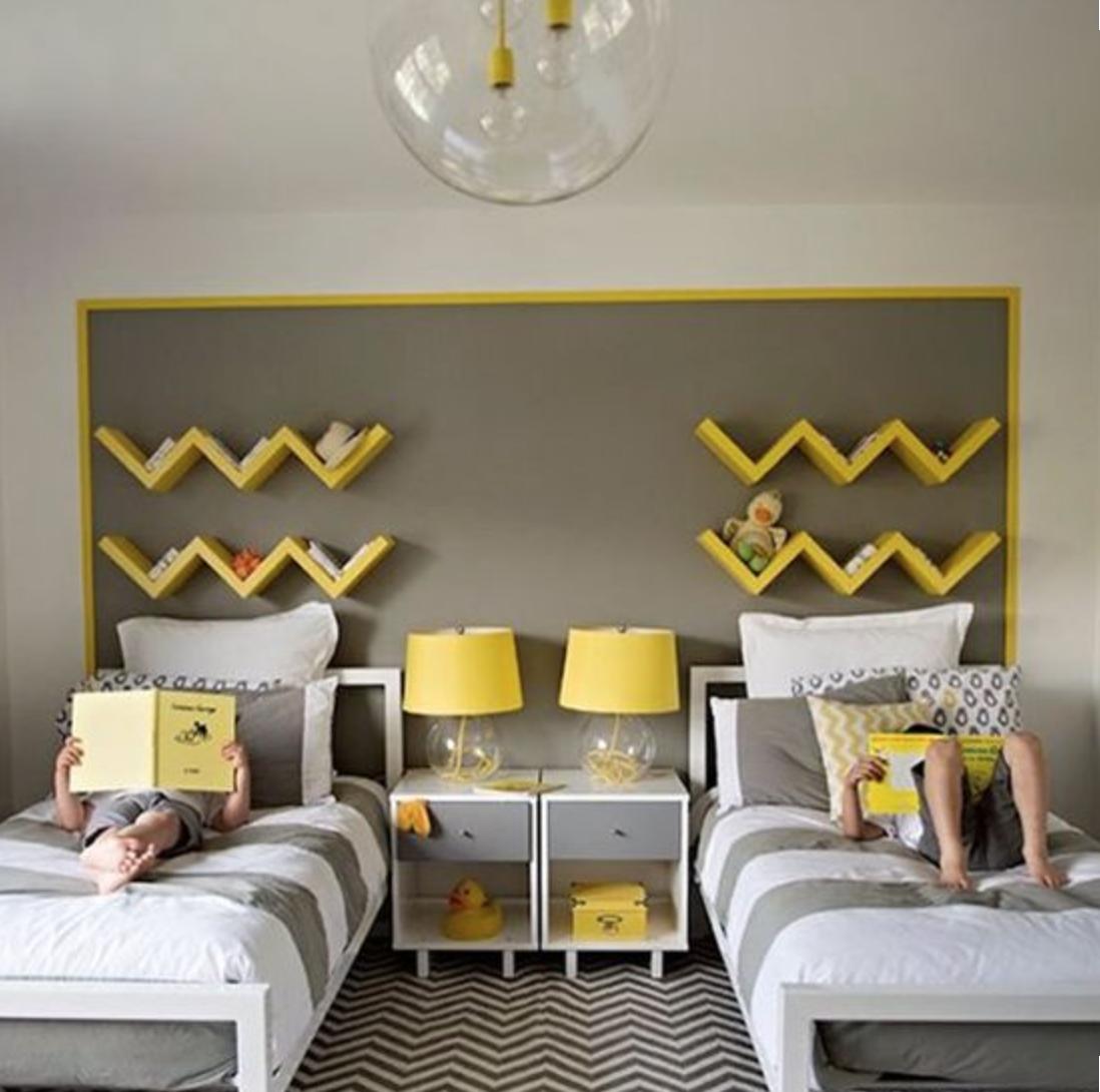 Ideas para habitaci n infantil compartida por mellizos - Habitacion infantil compartida ...