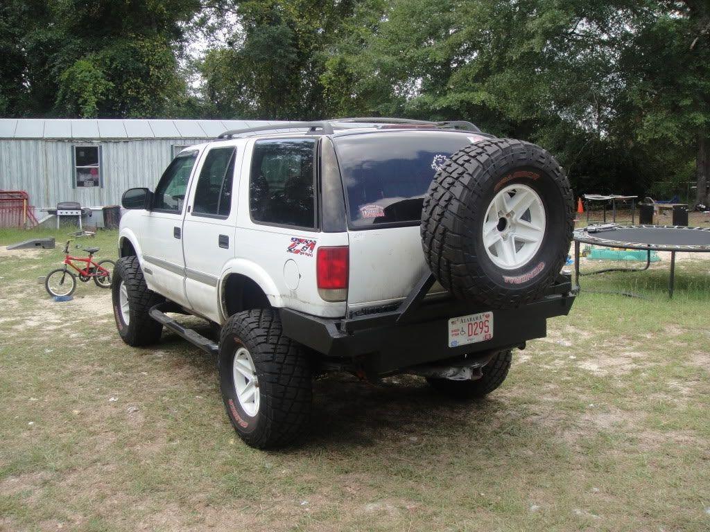 S10 Blazer Rear Bumper Tire Carrier Google Search S10 Blazer