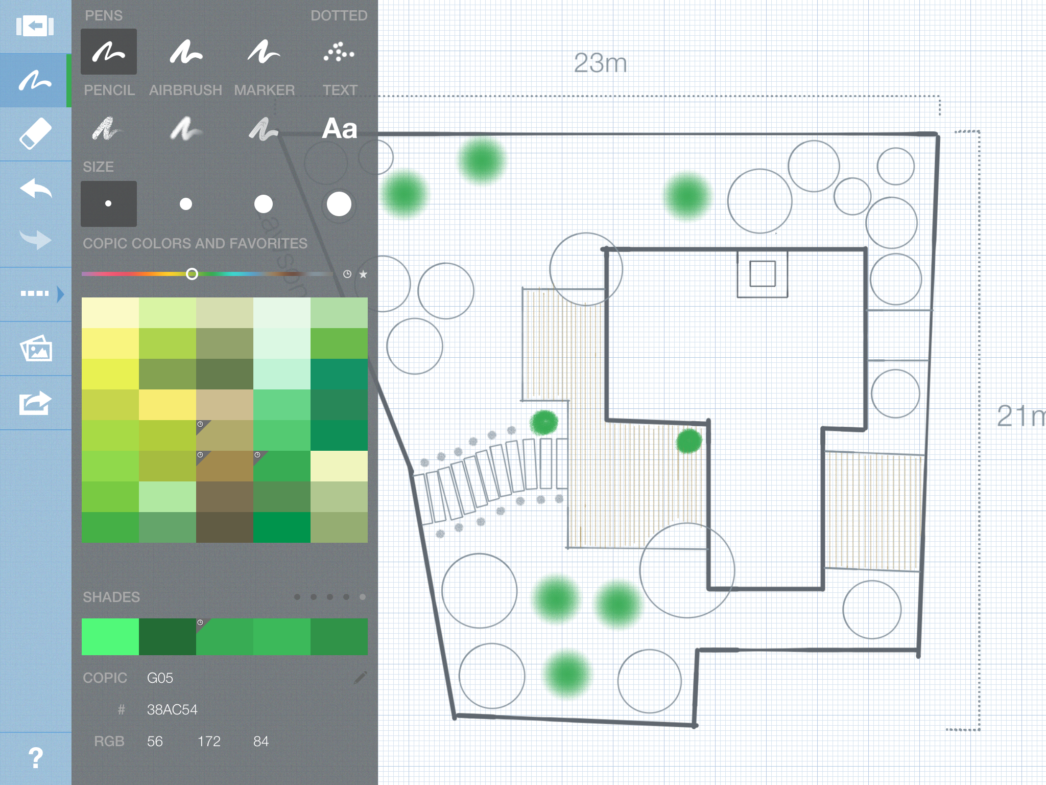 Landscape Design In Concepts 2 0 Smarter Sketching Ipad