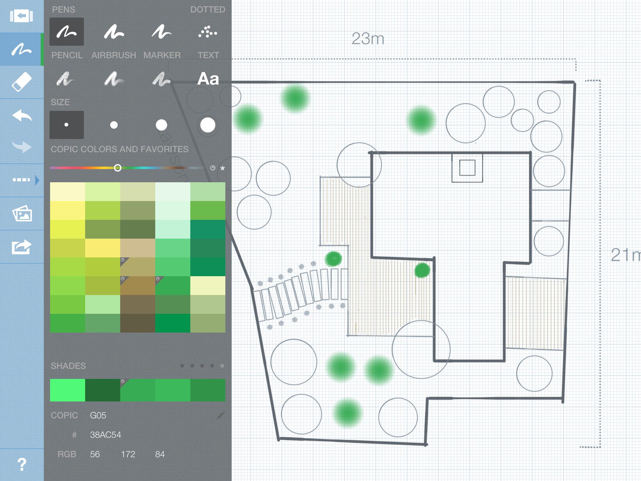 Landscape Design In Concepts 2.0: Smarter Sketching (iPad