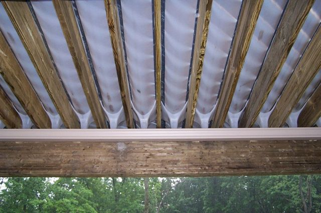 Under Deck Drainage System By Gm Decks Under Decks