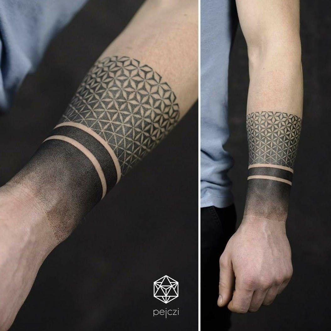 Tattoo unterarm mann band