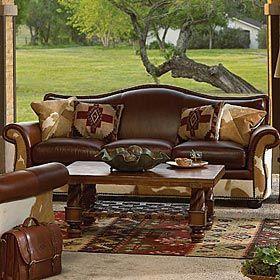 King Ranch - BONANZA SOFA   Ranch House Decor   Pinterest   King ...