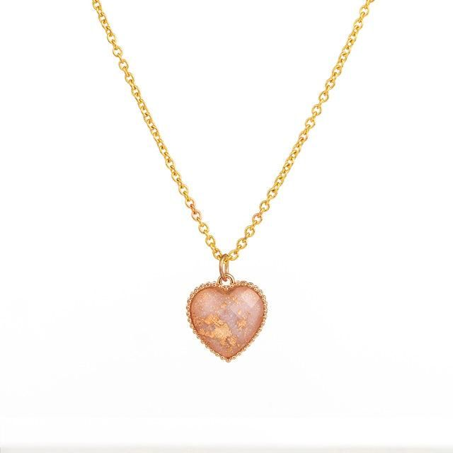 Photo of Golden Chain Multi layer Necklace For Women Choker Heart Stars Round Coin Portrait Dollar Necklaces&Pendants Fashion Jewelry