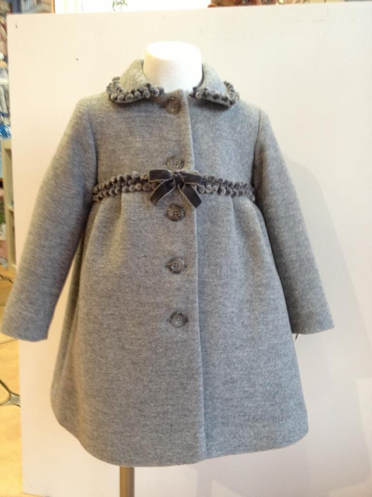 Miss Clementina Abrigo Kids Coats, Baby Sewing, Sewing For Kids, Little Girl  Fashion 8dd961a0689