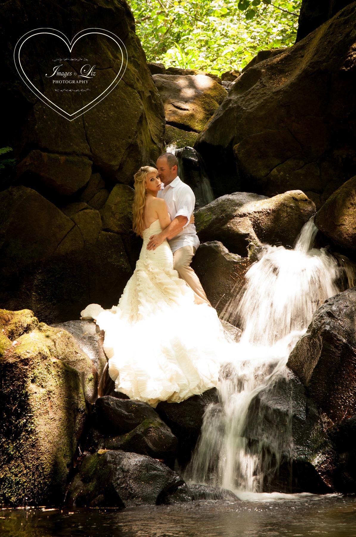 Wedding On The Waterfall Kauai Hawaii Interesting